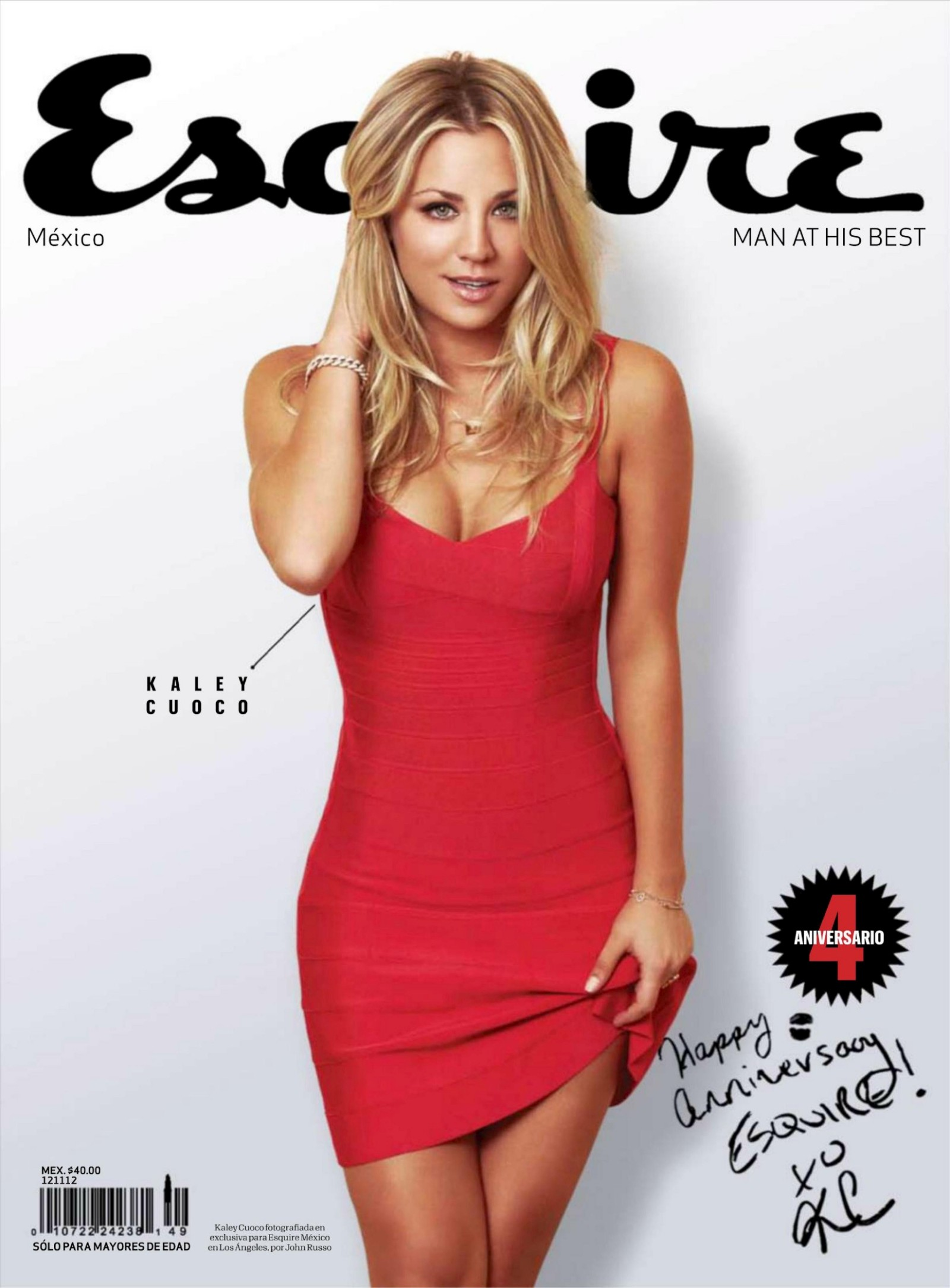 Back to post Kaley Cuoco – Esquire Mexico (2012 Oct)