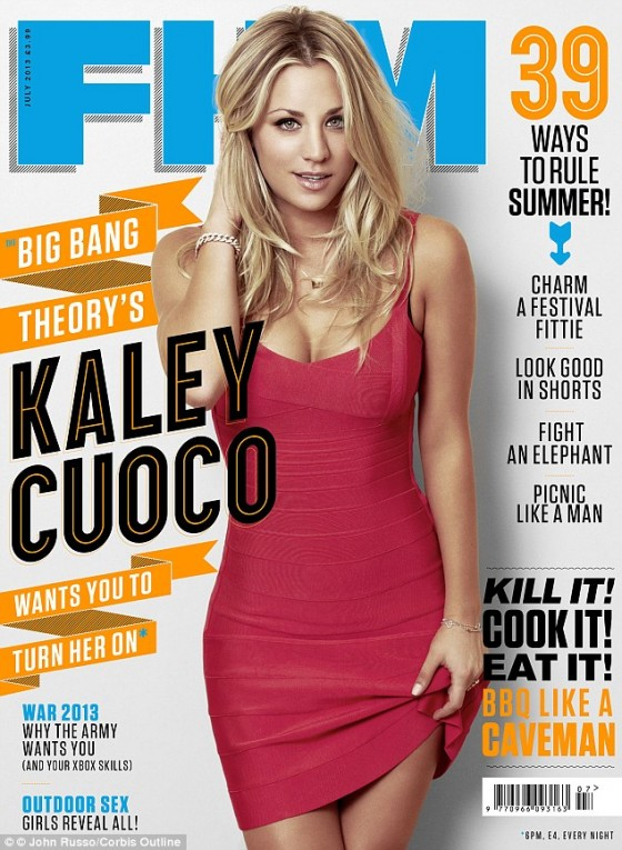 Kaley Cuoco - FHM Magazine 2013-02