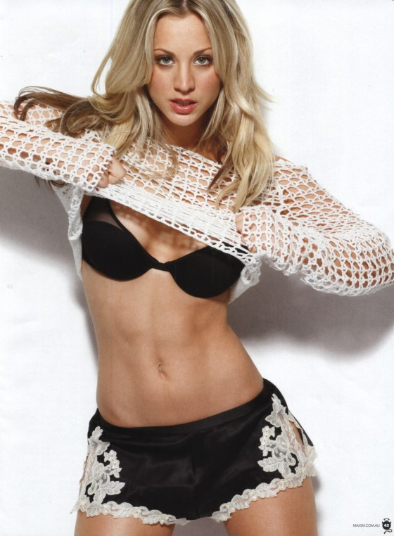 Kaley Cuoco - (HQ) Maxim Aussie Magazine (July 2012) & FHM Magazine UK