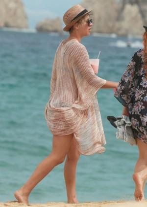 Kaley Cuoco in a Bikini in Cabo -01
