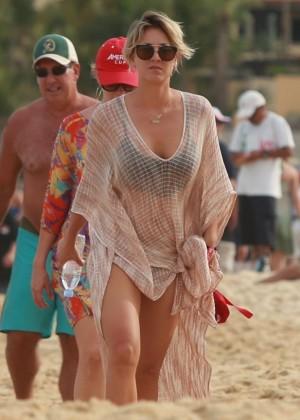 Kaley Cuoco in a Bikini in Cabo -02