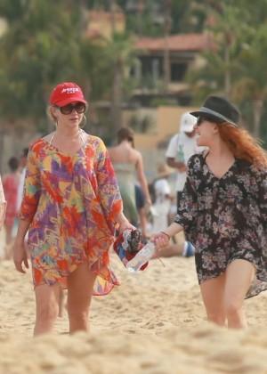 Kaley Cuoco in a Bikini in Cabo -07