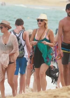 Kaley Cuoco in a Bikini in Cabo -08