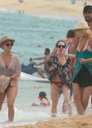 Kaley Cuoco in a Bikini in Cabo -10