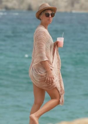 Kaley Cuoco in a Bikini in Cabo -11