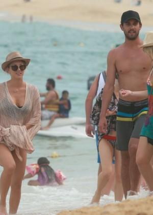 Kaley Cuoco in a Bikini in Cabo -18