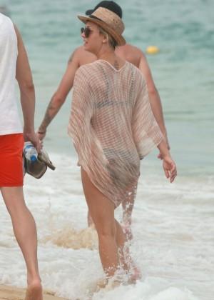 Kaley Cuoco in a Bikini in Cabo -19