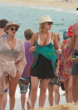 Kaley Cuoco in a Bikini in Cabo -21