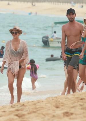Kaley Cuoco in a Bikini in Cabo -22