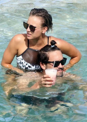 Kaley Cuoco in bikini 2014 -19