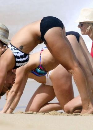 Kaley Cuoco in bikini 2014 -20