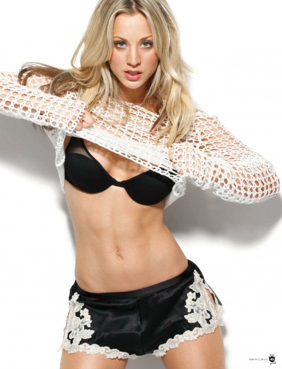 Kaley Cuoco - Maxim magazine Australia (July 2012)