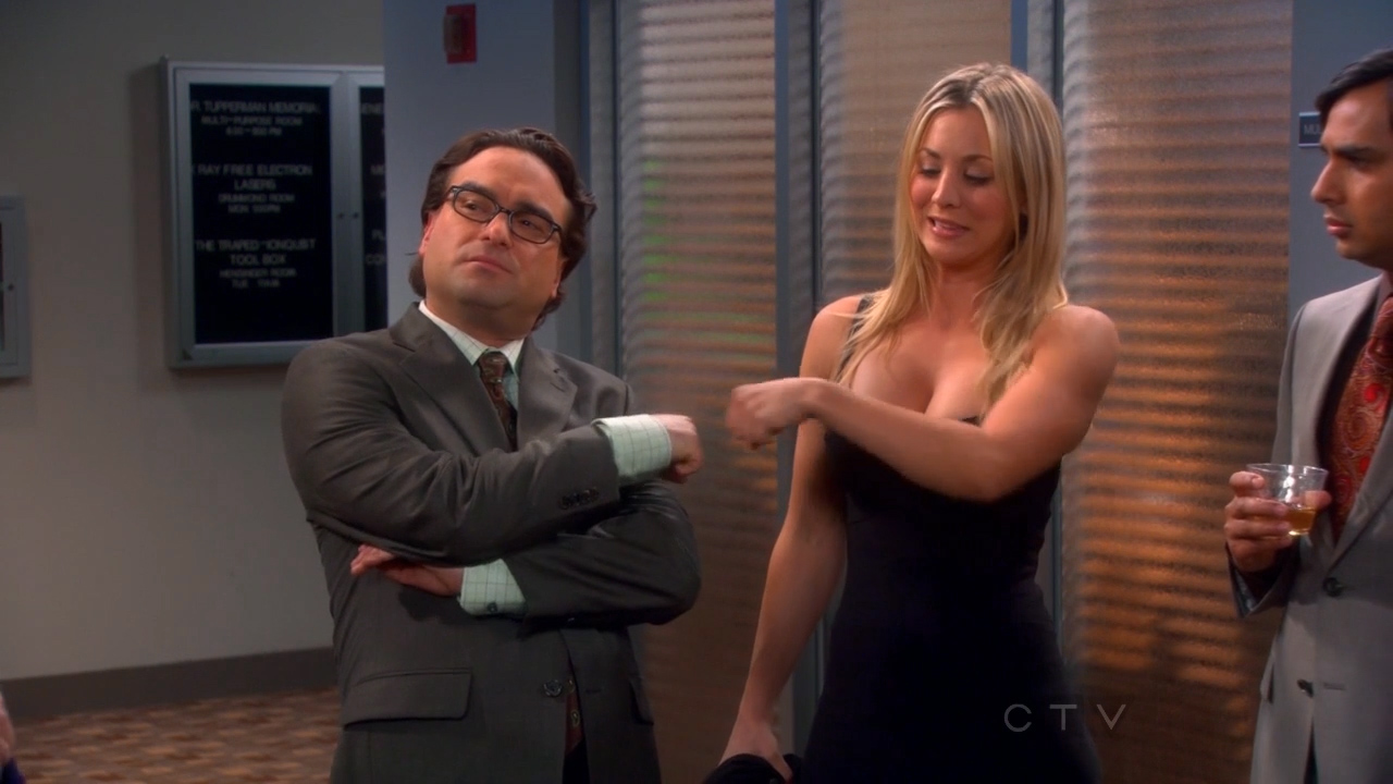 Watch Kaley cuoco the big bang theory sexy video