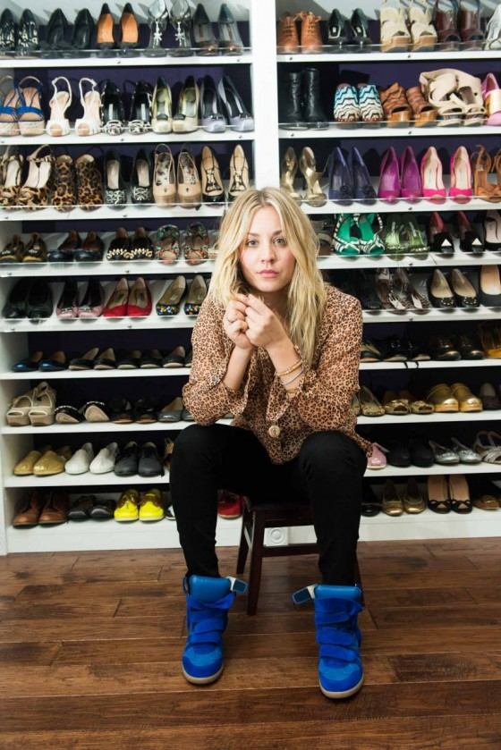 Kaley Cuoco – The Coveteur photoshoot 2012