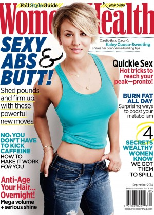 Kaley Cuoco - Women's Health Cover (September 2014)