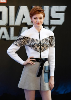 "Karen Gillan at ""Guardians Of The Galaxy"" London premiere"