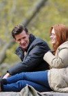 Karen Gillan - on the set of Dr Who in Central Park-04