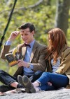 Karen Gillan - on the set of Dr Who in Central Park-05