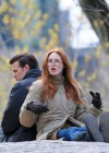 Karen Gillan - on the set of Dr Who in Central Park-10