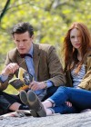 Karen Gillan - on the set of Dr Who in Central Park-11