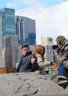 Karen Gillan - on the set of Dr Who in Central Park-13