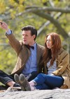 Karen Gillan - on the set of Dr Who in Central Park-14