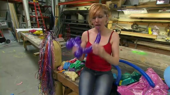 Kari Byron – Balloon Buster Episode-11