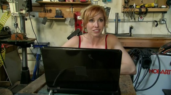 Kari Byron – Balloon Buster Episode-23