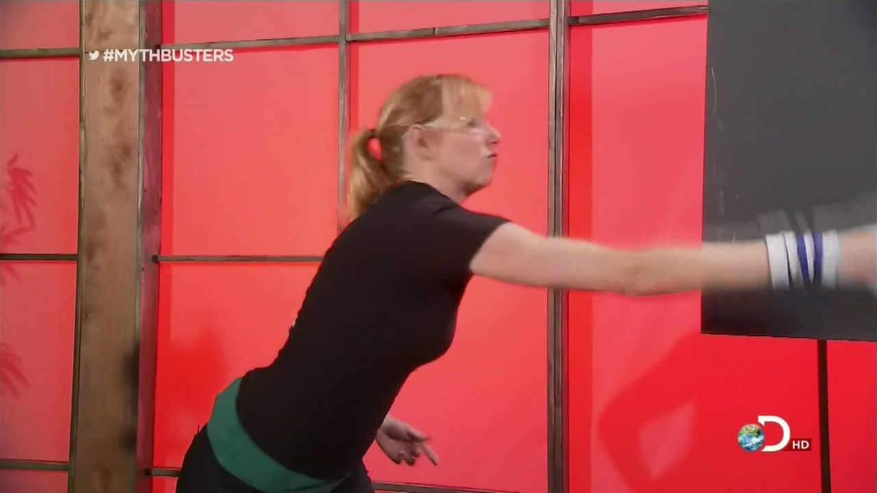 Back to post Kari Byron – Mythbusters -Mini Myth Medley