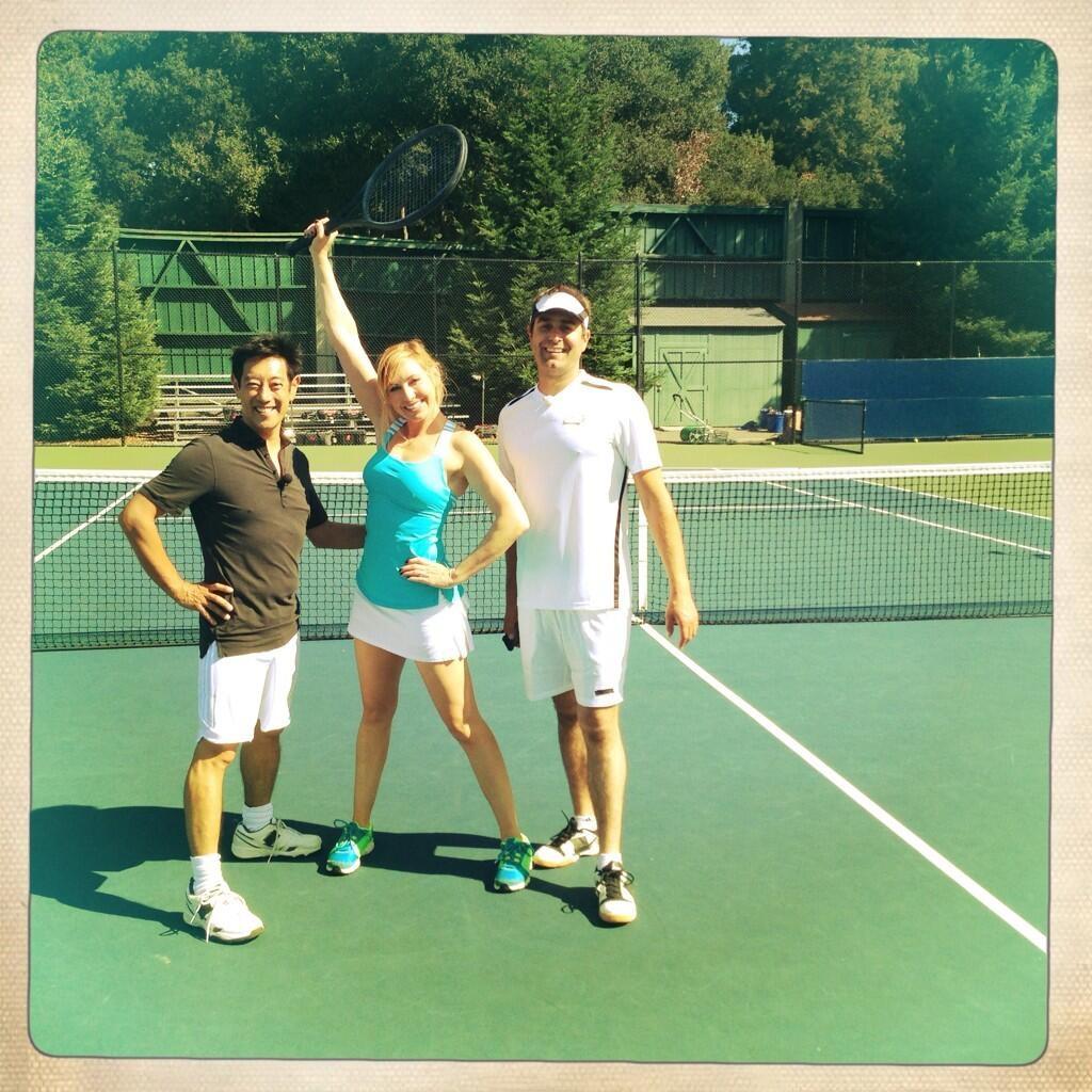 Kari Byron Tennis