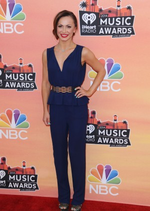 Karina Smirnoff: 2014 iHeartRadio Music Awards -03
