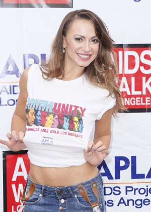 Karina Smirnoff - 30th Annual AIDS Walk Los Angeles in West Hollywood