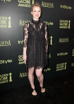 Karine Vanasse - HFPA & InStyle Celebrate 2015 Golden Globe Award Season in West Hollywood