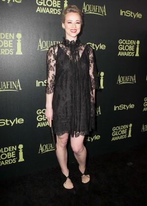 Karine Vanasse - HFPA & InStyle Celebrate 2015 Golden Globe Award Season in West Hollywood