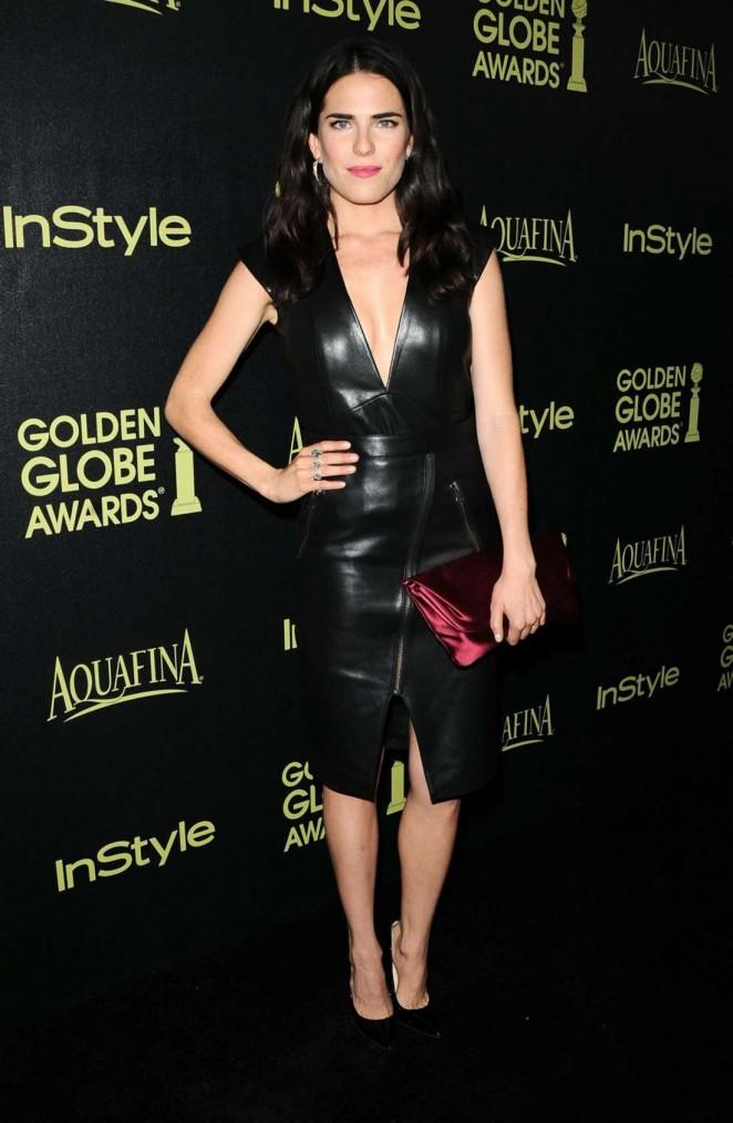 Karla Souza - HFPA & InStyle Celebrate 2015 Golden Globe Award Season in West Hollywood