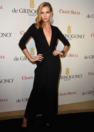 Karlie Kloss - De Grisogono 'Crazy Skull' watch launch in Paris