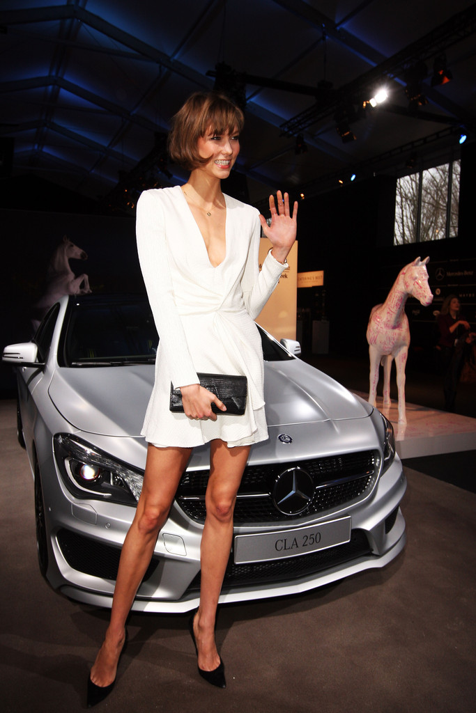 photo of Karlie Kloss Mercedes - car