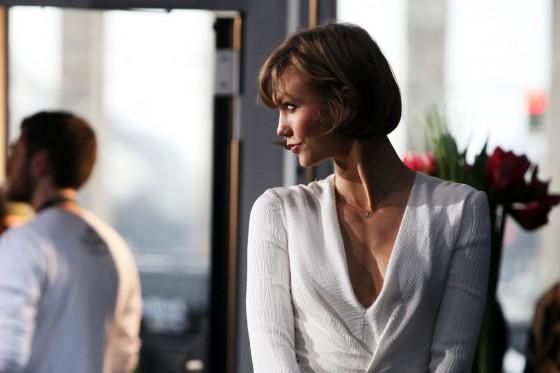 Karlie Kloss at Mercedes-Benz Press Preview -10 | GotCeleb