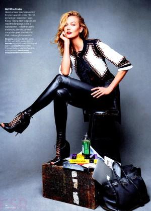 Karlie Kloss - Glamour Magazine (January 2015)