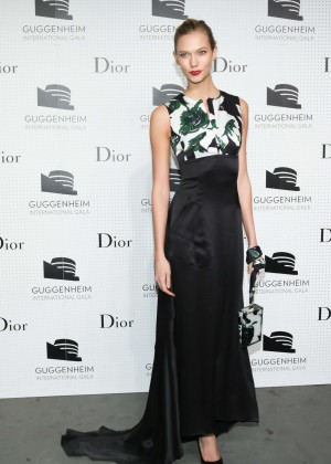 Karlie Kloss - Guggenheim International Gala Dinner made possible by Dior in NYC