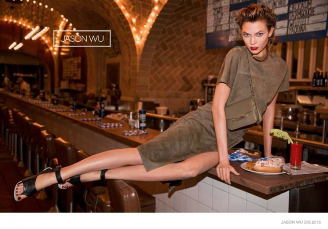 Karlie Kloss - Jason Wu 2015 Spring/Summer Campaign