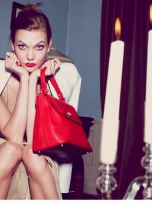 Karlie Kloss: Lancaster Paris Holiday 2014 Campaign -01