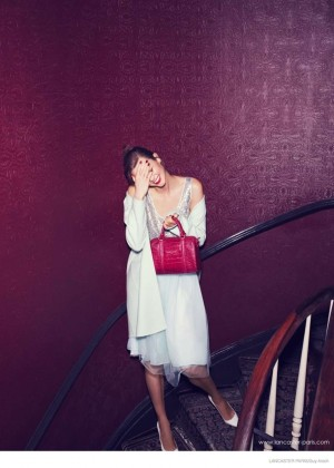Karlie Kloss: Lancaster Paris Holiday 2014 Campaign -03