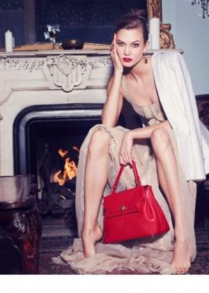Karlie Kloss: Lancaster Paris Holiday 2014 Campaign -05