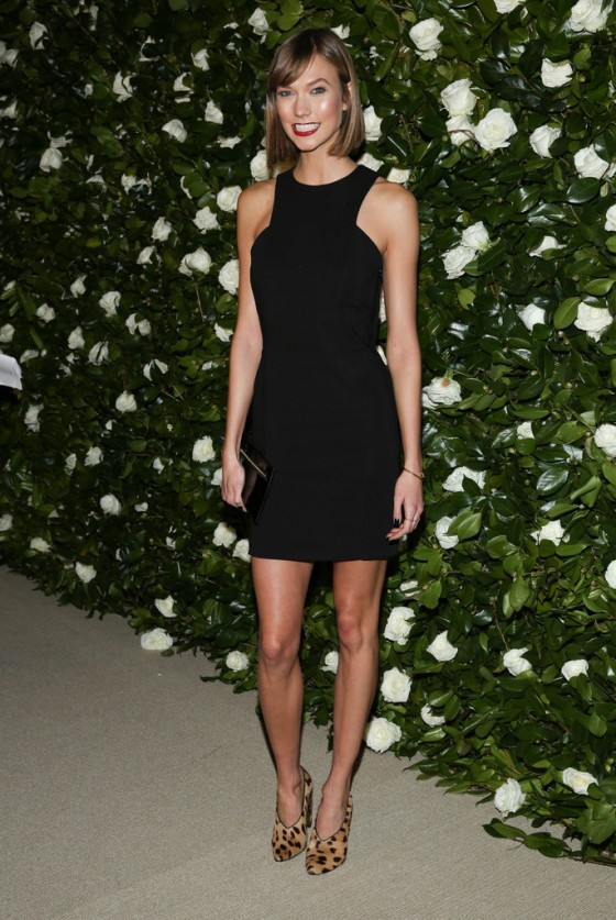 Karlie Kloss: Museum of Modern Art Event -04