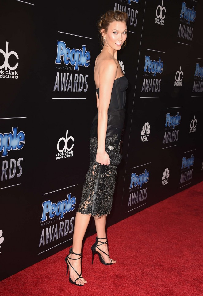 Karlie Kloss: PEOPLE Magazine Awards 2014 -07