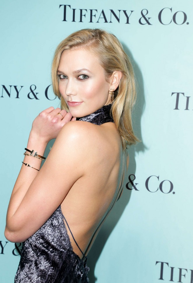 Karlie Kloss - The Tiffany T Train Experience Opening in New York