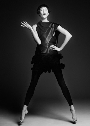 Karlie Kloss: Vogue Paris 2014 -07