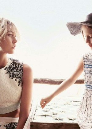 Karlie Kloss: Vogue Us Magazine -06