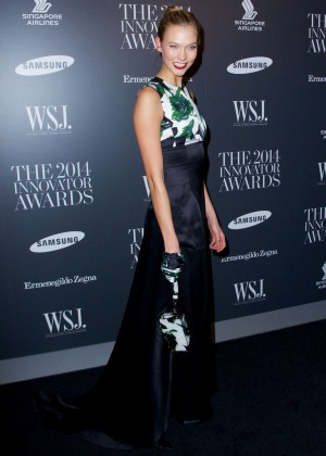 Karlie Kloss - WSJ Magazine 2014 Innovator Awards in NY